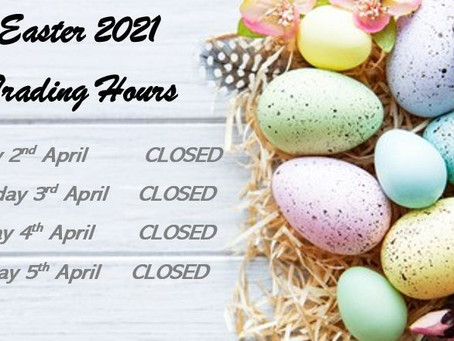 2021 Easter Office Trading Hours