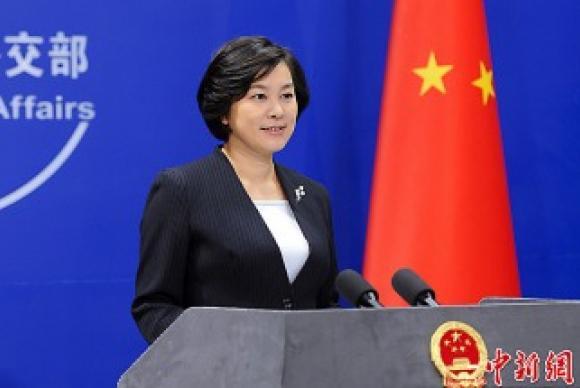 A porta-voz chinesa das Relações Exteriores, Hua Chunying /Foto: Divulgação/China/Xinhua