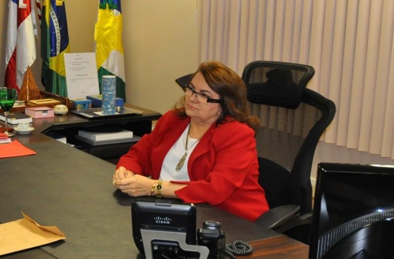 Maria das Graças Alecrim Marinho Presidente do TRT da 11ª Região - Foto: TRT11