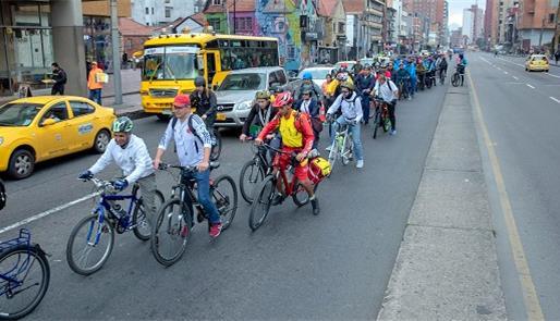 Bogotá fez no dia (7) seu primeiro 'dia sem carro' de 2019