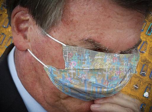 Desmandos de Bolsonaro abreviam vida de 70 mil. País tem 1,8 milhão de infectados