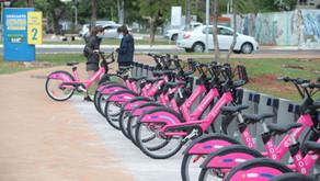 Brasília inaugura sistema de bicicletas compartilhadas