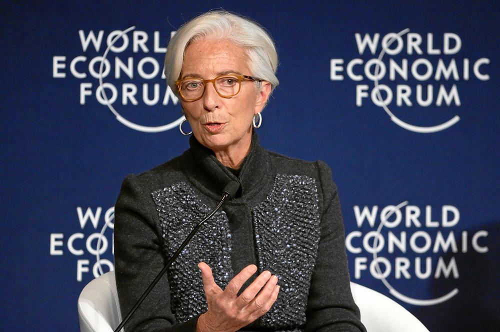 Christine Lagarde - Foto: Remy Steinegger/ Wprld Economic Forum