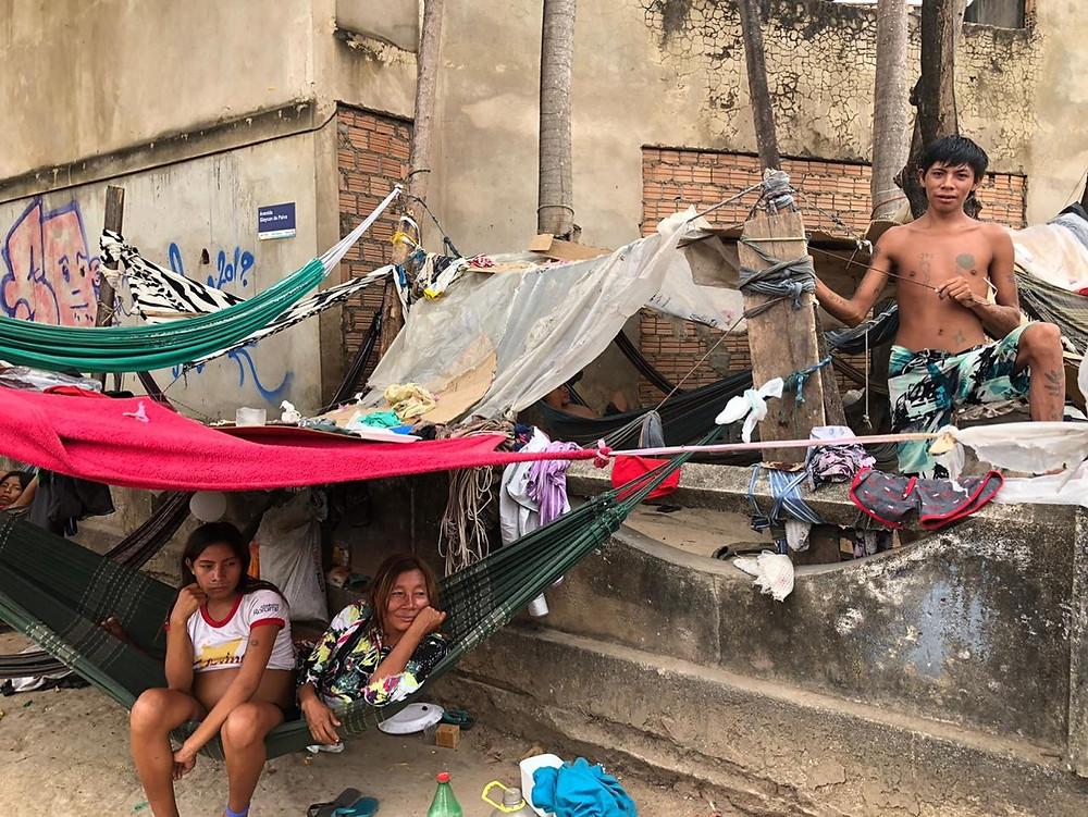 Um grupo de indígena da aldeia Xexena regressou à comunidade sem fazer teste e agora 19 deles estão na quarentena (Foto de Emily Costa/Amazônia Real)