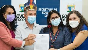 Emenda parlamentar garante realização de concurso público para professor indígena em Roraima
