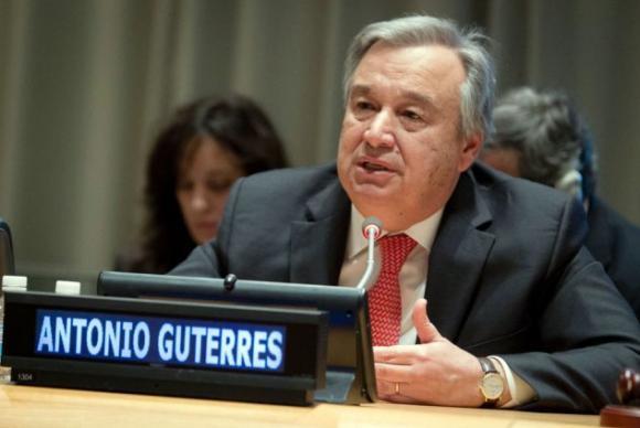 """O Secretário-geral eleito da ONU, António Guterres, desde 2015, o mundo tem assistido a """"uma dramática deterioração do sistema de proteção de refugiados""""Arquivo/Agência Brasil"""
