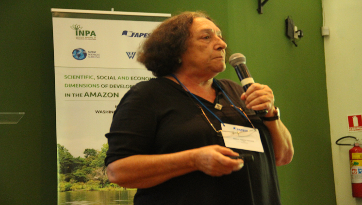 pesquisadora do Inpa, Maria Teresa Fernandez Piedade,