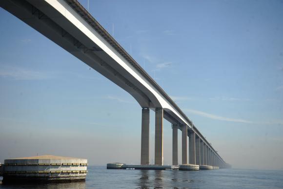 Leilão definirá concessionária que vai administrar a Ponte Rio-Niterói nos próximos 30 anos  (Tomaz Silva/Agência Brasil) Tomaz Silva