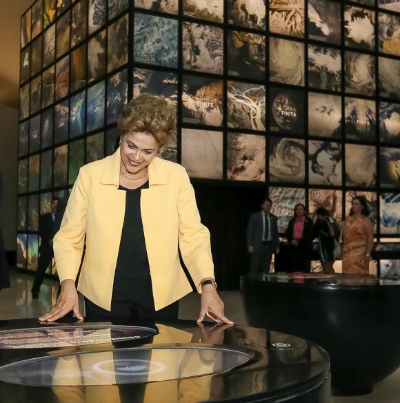 Para a presidenta Dilma, o Museu do Amanhã nos capacita a entender nossa história e construir um amanhã melhor. Foto: Roberto Stuckert Filho/PR