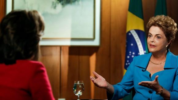 Presidenta Dilma Rousseff concede entrevista à CNN. Foto: Roberto Stuckert Filho/PR
