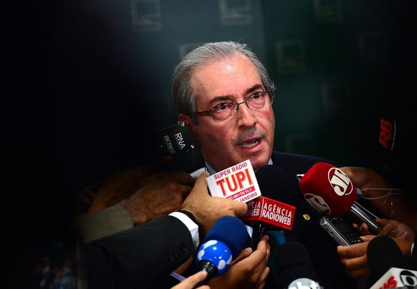 Brasília - Entrevista com o presidente da Câmara dos Deputados, Eduardo Cunha (Wilson Dias/Agência Brasil)