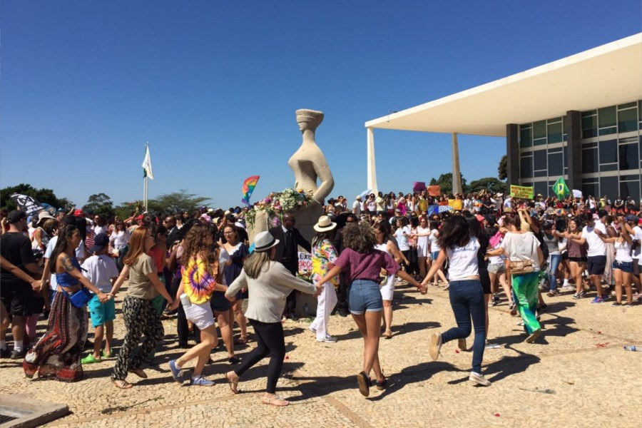 Brasília - Foto: Conversa Afiada e Mídia Ninja