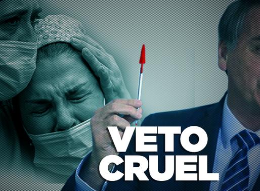 Herói da linha de frente, profissional da saúde é desprezado por Bolsonaro