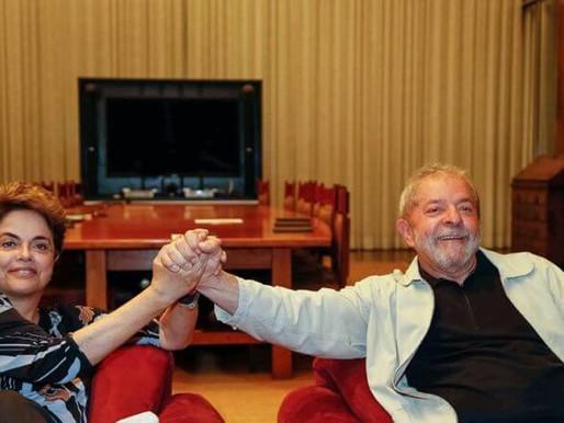 Dilma: não há democracia sem Lula livre