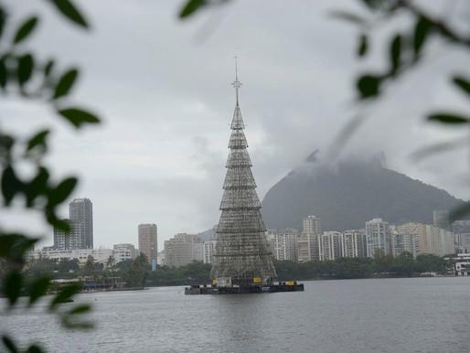 Inauguração da Árvore de Natal da Lagoa deve reunir 200 mil pessoas