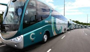 Venda ônibus atingiu 7,3 mil unidades, após crescimento de 10,9% sobre as 6,6 mil de 2014 Governo da Bahia/Creative Commons
