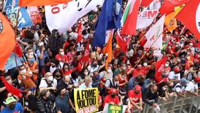 Na Avenida Paulista, a certeza de que Bolsonaro deve sair já