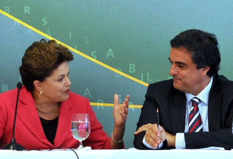 Dilma Rousseff e José Eduardo Cardozo Dilma Rousseff e José Eduardo Cardozo EBC