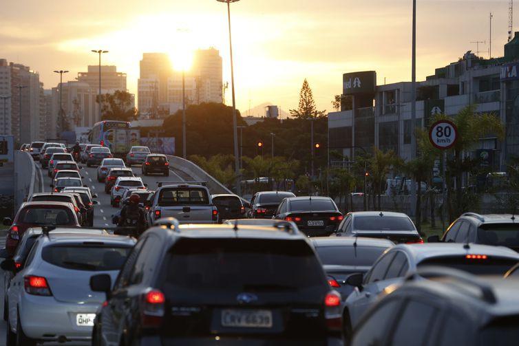 Os acidentes de trânsito são a segunda maior causa de mortes externas no país -Fernando Frazão/Agência Brasil