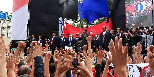 Presidente da Alba repudia a proibição da Venezuela participar da Cúpula da Américas, em abril, no Perú / Foto: Agencia Venezolana de Noticias