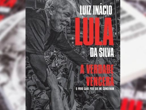 """Livro de Lula """"A verdade vencerá"""" é lançado em Lisboa"""