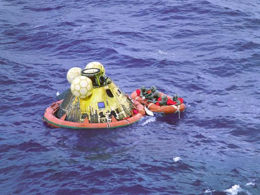 50 anos do Retorno à Terra da Apollo 11