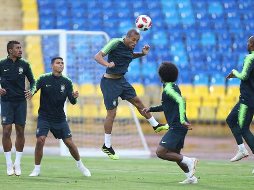 Brasil jogará com Fernandinho no lugar de Casemiro contra a Bélgica