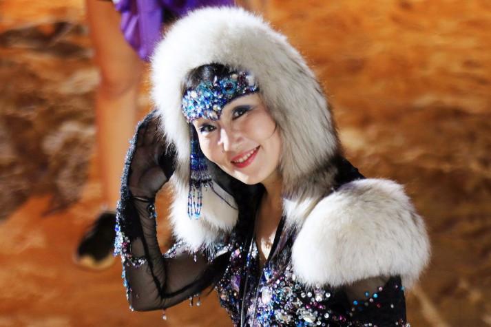 Representante da Rússia nos Jogos Mundiais dos Povos Indígenas. Foto: Francisco Medeiros