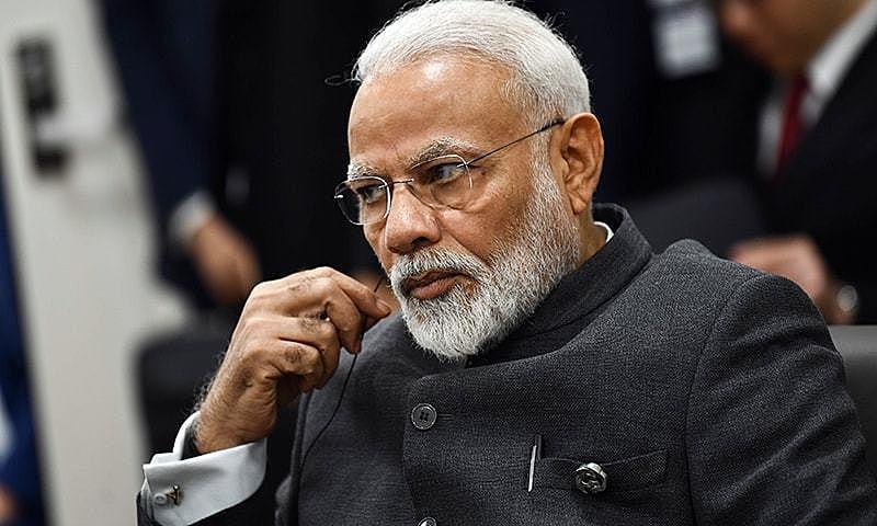 Político de extrema direita aliado de Jair Bolsonaro, Modi é o primeiro-ministro da Índia desde 2014 - Arquivo/AFP