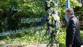 Em Dia Internacional, Guterres reconhece 'dedicação e bravura' dos jovens nas Forças da Paz