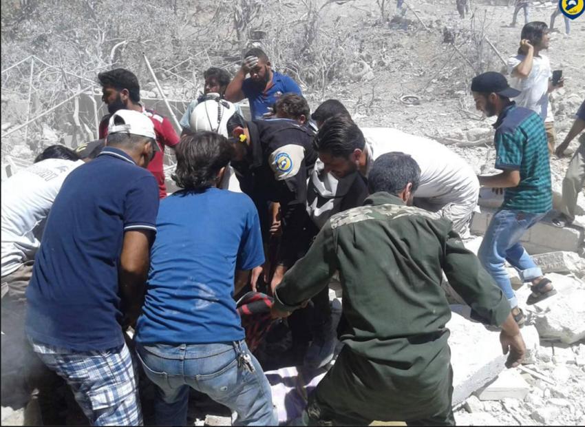 Foto: Civil Defense Idlib