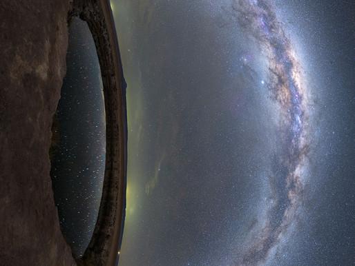 Olho na Via Láctea