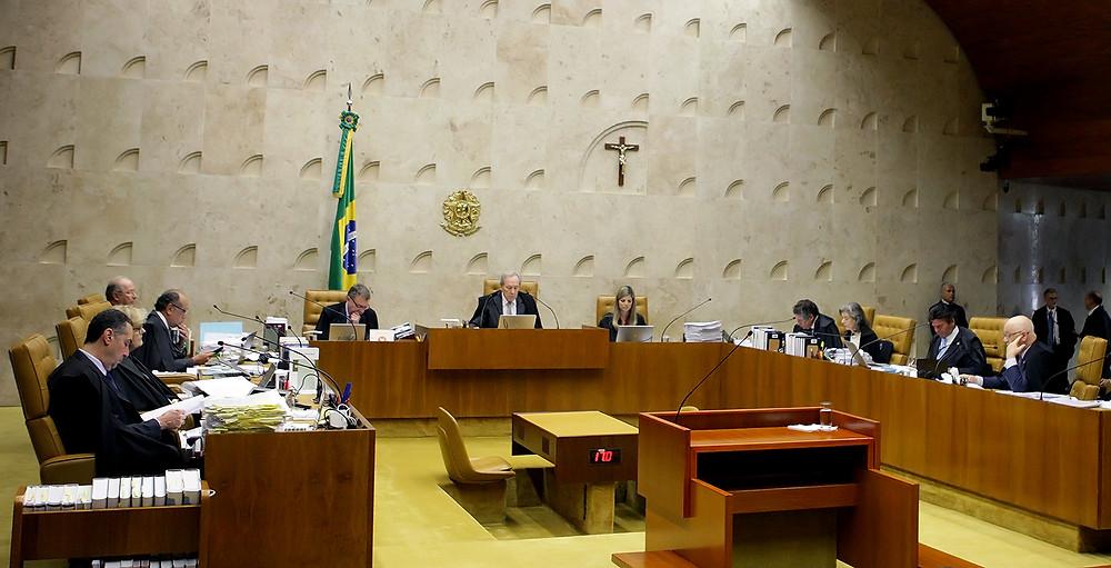 Sessão plenária do STF. Foto: Fellipe Sampaio