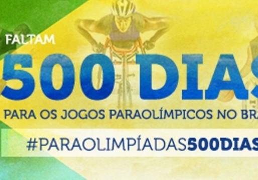 A 500 dias das Paraolimpíadas, Brasil apresenta avanço nas obras