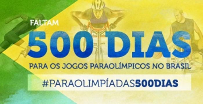 Jogos Paraolímpicos contará com cerca de 4.350 atletas, de 178 países - Divulgação/Ministério do Esporte