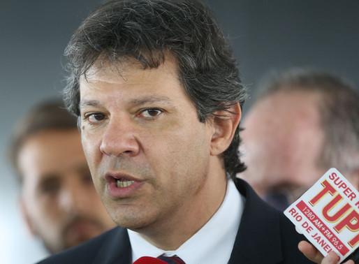 Fernando Haddad: governo Bolsonaro é geringonça que mistura autoritarismo, fundamentalismo e neolibe