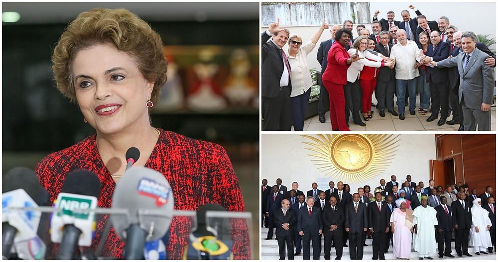 Foto: Roberto Stuckert Filho/PR e Instituto Lula