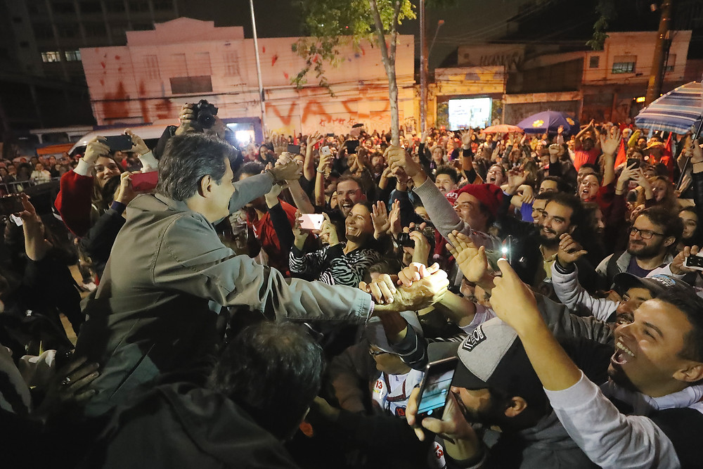 Fernando Haddad em Ato da Virada/Foto: Ricardo Stuckert