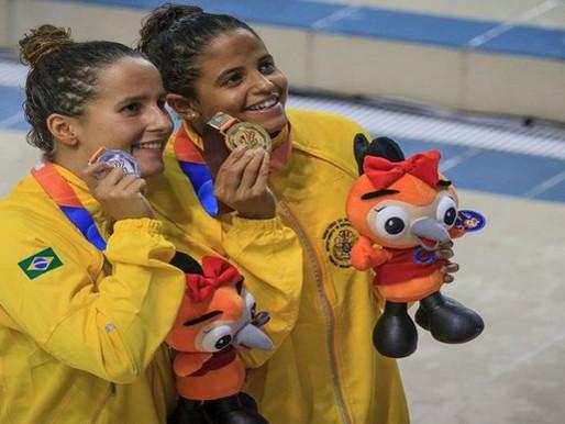 Natação do Brasil conquista sete medalhas na Coreia do Sul