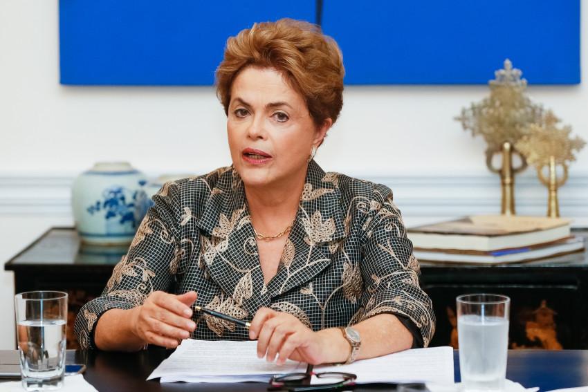 Presidente Dilma Rousseff durante entrevista para os jornais internacionais, em Nova Iorque - Foto: Roberto Stuckert Filho/ PR