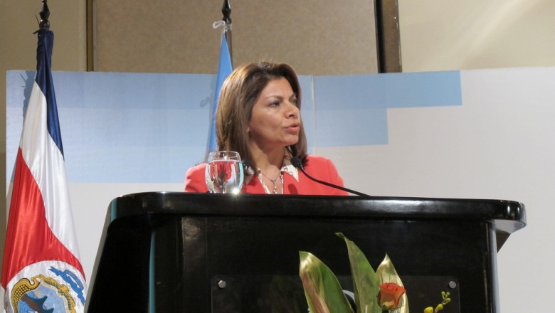 Laura Chinchilla,/Foto: UNIDO/ Amalia Berardone