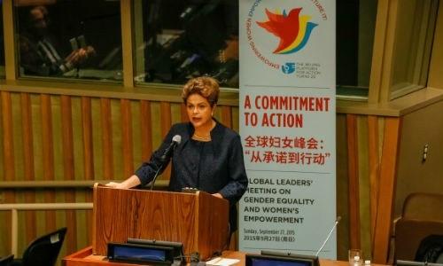Mulheres brasileiras têm sido beneficiárias e protagonistas das políticas de inclusão social, afirmou a presidenta Dilma Roberto Stuckert Filho/PR