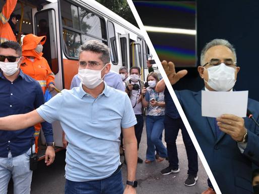 Novos prefeitos de Manaus e Belém assumem com discursos contrastantes