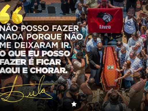 """Lula: """"Não deixaram que me despedisse do Vavá por pura maldade"""""""