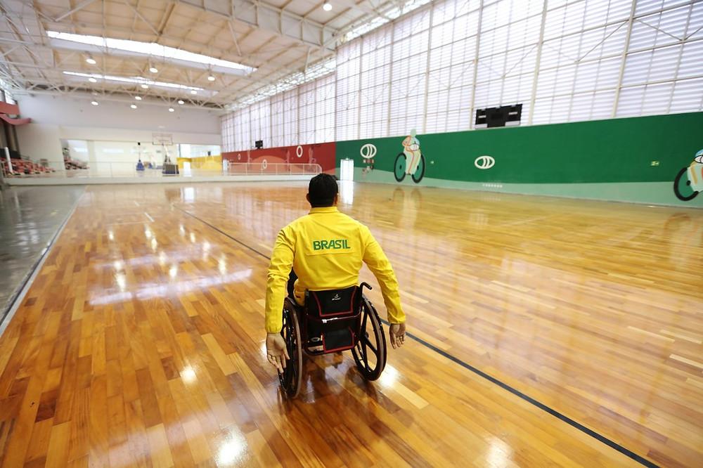 Centro de Treinamento Paralímpico, em São Paulo. Foto: Roberto Castro/ brasil2016.gov.br