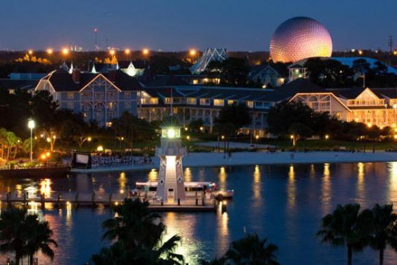 A  criança,  de  2  anos,  foi  atacada  em  um  lago  que  integra um dos complexos hoteleiros da Disney  Divulgação