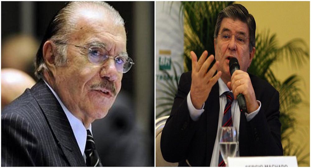 Na conversa gravada, Sarney e Machado criticam os ministros do Supremo Tribunal Federal (STF)