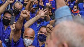 """Lula aos trabalhadores: """"É possível continuar acreditando no país"""""""