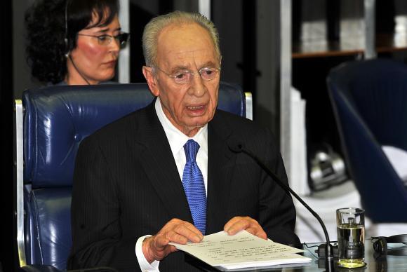 Ex-presidente Shimon PeresArquivo/Agência Brasil