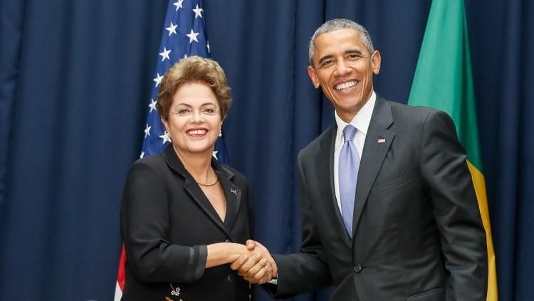 Dilma Rousseff e o presidente do Estados Unidos, Barack Obama - Foto: Portal Planalto